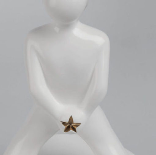 Miraestels Espalda Estrella dorada